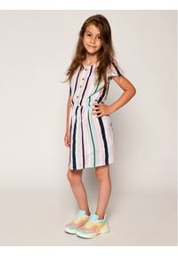Guess Sukienka codzienna K02K01 WBHE0 Kolorowy Regular Fit. Okazja: na co dzień. Wzór: kolorowy. Typ sukienki: proste. Styl: casual