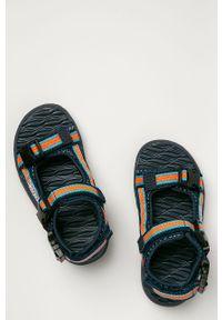 Kappa - Sandały dziecięce Rusheen. Zapięcie: rzepy. Kolor: niebieski. Materiał: syntetyk, guma, materiał #4