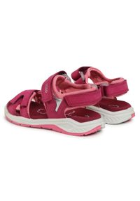 Różowe sandały ecco na lato