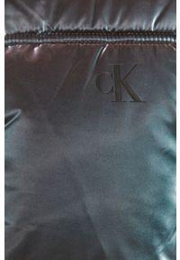Fioletowa kurtka Calvin Klein Jeans bez kaptura