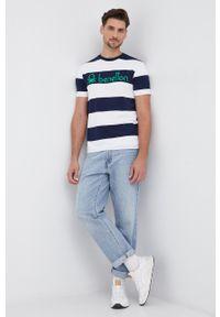 United Colors of Benetton - T-shirt bawełniany. Okazja: na co dzień. Materiał: bawełna. Styl: casual