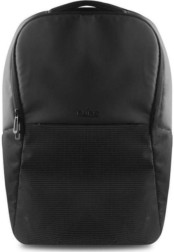 Czarny plecak na laptopa Puro