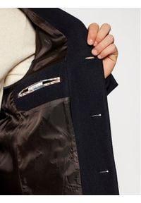 Czarny płaszcz przejściowy