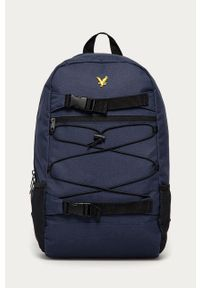 Niebieski plecak Lyle & Scott gładki