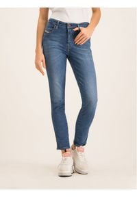 Diesel Jeansy 00S7LY069FZ Granatowy Regular Fit. Kolor: niebieski. Materiał: jeans