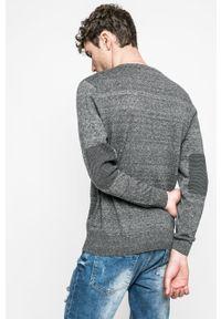 medicine - Medicine - Sweter Graphic Monochrome. Okazja: na co dzień. Kolor: szary. Materiał: dzianina. Wzór: gładki. Styl: casual