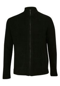 Czarny sweter Brave Soul na zimę, ze stójką