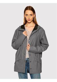 Rains Kurtka przeciwdeszczowa Unisex 1201 Szary Regular Fit. Kolor: szary