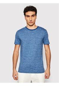 Jack&Jones PREMIUM T-Shirt Bludexter 12183543 Niebieski Regular Fit. Kolor: niebieski