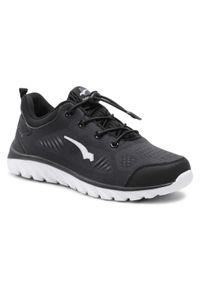 Bagheera - Sneakersy BAGHEERA - Ionic 86486-38 C0108 Black/White. Okazja: na co dzień. Kolor: czarny. Materiał: materiał. Sezon: lato. Obcas: na płaskiej podeszwie. Styl: casual