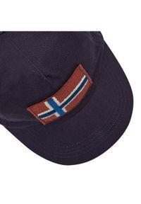Niebieska czapka z daszkiem Napapijri