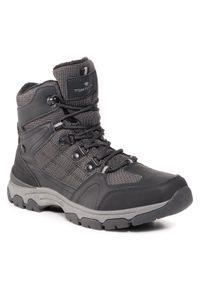 Czarne buty zimowe Tom Tailor