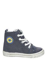 Niebieskie buty zimowe Jamet