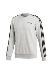 Bluza Adidas sportowa, w paski, z długim rękawem