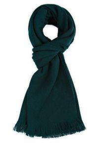 Zielony szalik Lancerto vintage, na zimę