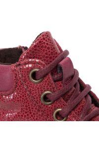 Czerwone śniegowce Froddo z cholewką