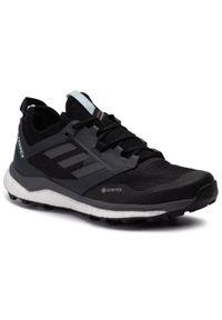 Czarne buty trekkingowe Adidas Adidas Terrex, Gore-Tex