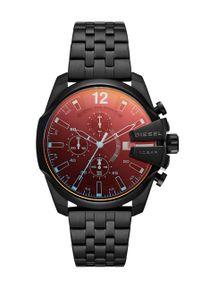 Diesel - Zegarek DZ4566. Kolor: czarny. Materiał: materiał