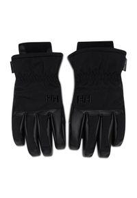 Czarne rękawiczki sportowe Helly Hansen narciarskie