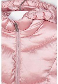 Różowa kurtka Mayoral na co dzień, z kapturem, casualowa