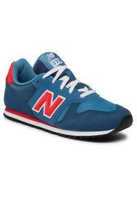 New Balance Sneakersy YC373KNR Granatowy. Kolor: niebieski. Model: New Balance 373