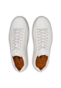 Fly London - Sneakersy FLY LONDON - Somafly P601455001 Off White. Okazja: na co dzień. Kolor: biały. Materiał: skóra ekologiczna, materiał. Styl: klasyczny, sportowy, casual #3