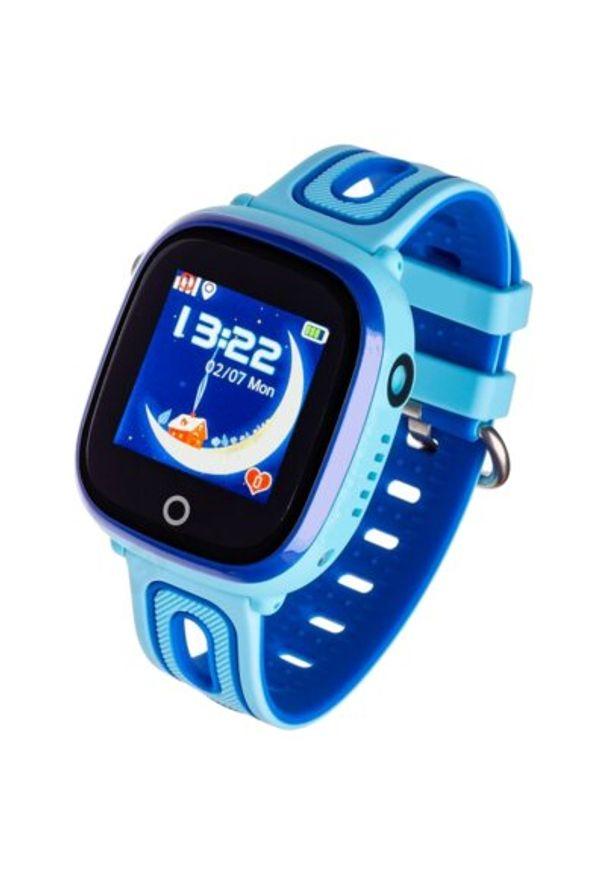 Niebieski zegarek GARETT smartwatch