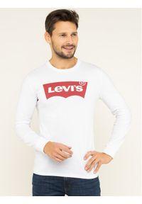 Levi's® Longsleeve Graphic Tee 36015-0010 Biały Regular Fit. Kolor: biały. Długość rękawa: długi rękaw