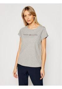 TOMMY HILFIGER - Tommy Hilfiger T-Shirt UW0UW01618 Szary Slim Fit. Kolor: szary