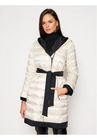 Czarny płaszcz zimowy Weekend Max Mara