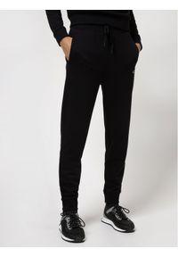 Hugo Spodnie dresowe Dibex 50442620 Czarny Regular Fit. Kolor: czarny. Materiał: dresówka