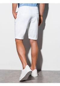 Białe szorty Ombre Clothing krótkie, na lato #4