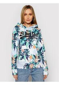 Superdry Bluza Aop Hood W2010921A Kolorowy Regular Fit. Wzór: kolorowy