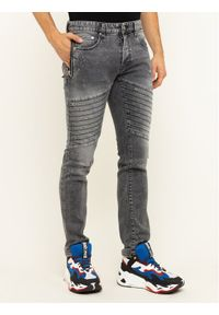 Just Cavalli Jeansy Slim Fit S01KA0210 Szary Slim Fit. Kolor: szary. Materiał: jeans