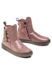 Froddo - Trzewiki FRODDO - G3160127-2 S Pink. Okazja: na spacer. Kolor: różowy. Materiał: skóra, nubuk. Szerokość cholewki: normalna. Wzór: aplikacja. Sezon: zima