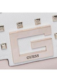 Guess - Torebka GUESS - Brightside HWVS75 80190 SML. Kolor: wielokolorowy, biały, różowy. Materiał: skórzane. Styl: klasyczny