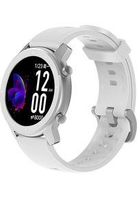Biały zegarek Huami sportowy, smartwatch
