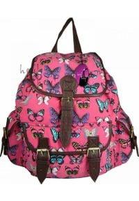 Adleys CB151 Butterfly Plecak Wycieczkowy Szkolny Turystyczny Miejski Damski. Styl: wakacyjny