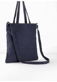 Niebieska torebka bonprix elegancka