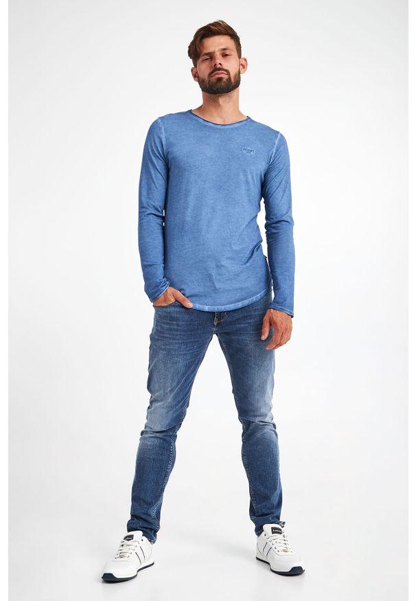 JOOP! Jeans - LONGSLEEVE CARLOS JOOP! JEANS. Długość rękawa: długi rękaw. Wzór: haft. Styl: klasyczny