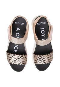 Złote sandały Hispanitas