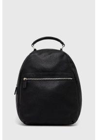 Answear Lab - Plecak skórzany. Kolor: czarny. Materiał: skóra. Styl: wakacyjny