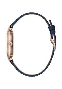 Furla - FURLA - Zegarek WW00002006L3. Kolor: niebieski. Materiał: skóra, materiał
