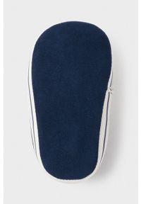 Niebieskie półbuty Mayoral Newborn z okrągłym noskiem, na sznurówki, z cholewką #4