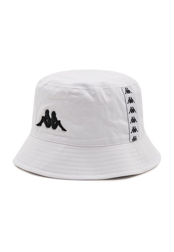 Kappa - Bucket KAPPA - Gunther 307114 Bright White 0601. Kolor: biały. Materiał: materiał, bawełna