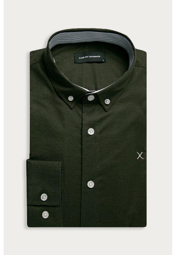 Koszula Clean Cut Copenhagen długa, button down, na co dzień, casualowa