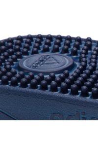 Adidas - Klapki adidas - adissage F35579 Dkblue/Ftwwht/Dkblue. Kolor: niebieski. Materiał: materiał. Sezon: lato. Styl: klasyczny