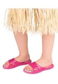 LANO - Klapki dziecięce basenowe Lano KL-2-3060-M4 Różowe. Okazja: na plażę. Kolor: różowy. Materiał: guma