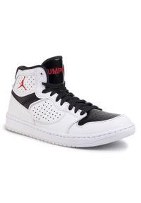 Białe sneakersy Nike z cholewką