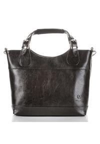 Czarna torebka PAOLO PERUZZI do ręki